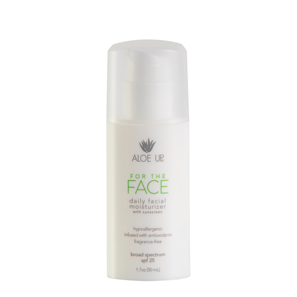 For The Face Daily Moisturizer SPF 25