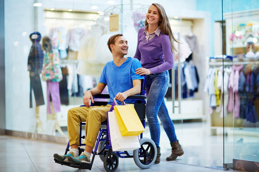 Is Shopping in a Wheelchair Hassle-Free?