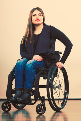 Wheelchair Jeans | Basic Stretch Denim Women's Adaptive Jeans