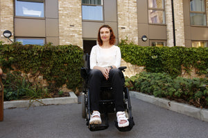 Wheelchair Jeans |  Women's Smoke Adaptive Wheelchair Tummyless Skinny Jean