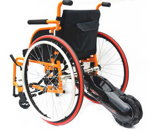 ClampDriver Wheelchair Rear Assist | 3rd Wheel with Smart Control