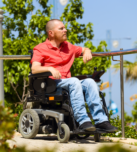 Wheelchair Jeans | Men's Front Pocket Stretch Fabric