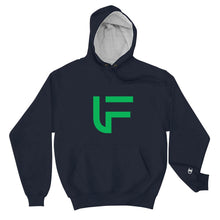 Load image into Gallery viewer, FUSCI Logo Champion Hoodie - FUSCI Seated Clothing