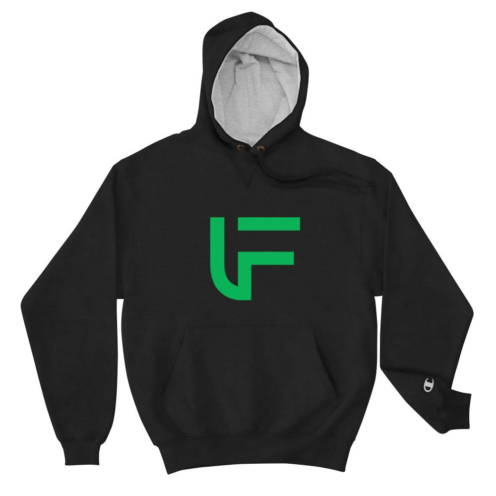 FUSCI Logo Champion Hoodie - FUSCI Seated Clothing
