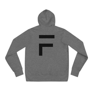 FUSCI Men Women Unisex F Hoodie - FUSCI Seated Clothing