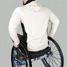 Load image into Gallery viewer, Men's Exclusive Seated Wheelchair Stone Hoodie - FUSCI Seated Clothing