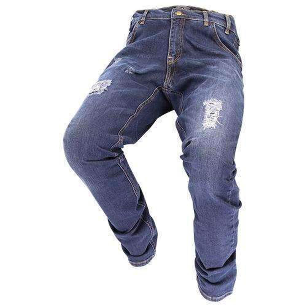 Men's Fashion Destroy Wheelchair Jeans - FUSCI Seated Clothing