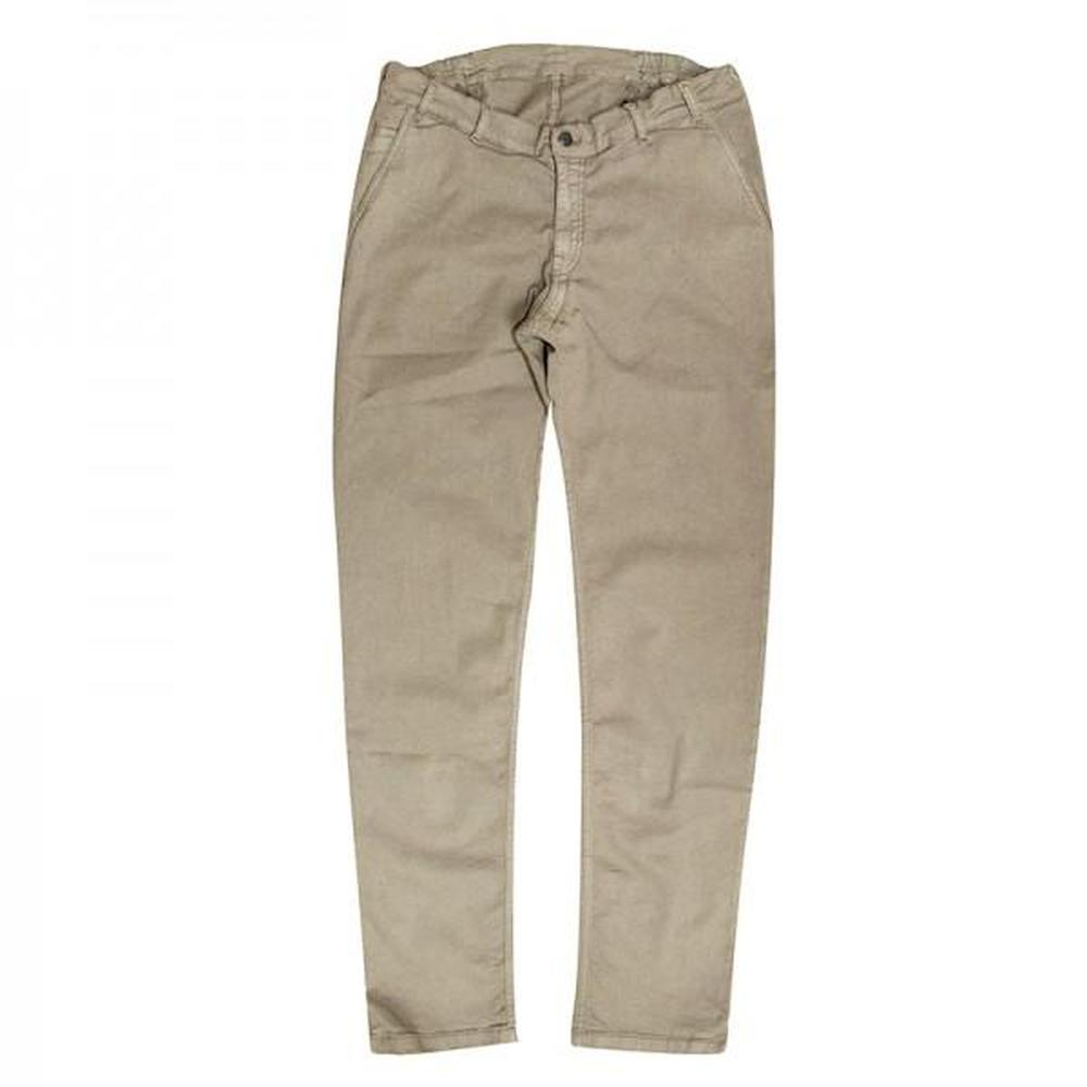 Men's Seated Stretch Khaki Chino Pants - FUSCI Seated Clothing