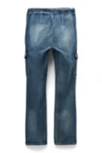 Load image into Gallery viewer, Seven7 Men's Mosset Dark Wash Adaptive Slim Fit Jogger Seated Jean - FUSCI Seated Clothing