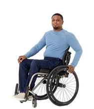 Load image into Gallery viewer, Seven7 Men's Peyre Dark Wash Adaptive Athletic Fit Seated Jean - FUSCI Seated Clothing