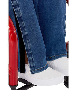 Seven7 Women's Jagger Adaptive Wheelchair Easy Straight Cut Jean - FUSCI Seated Clothing