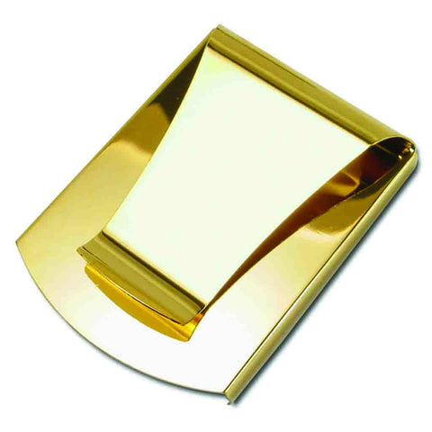 Storus® Promotions - Smart Money Clip Gold Finish without engraving - designed by #ScottKaminski #Storus #jewelrycase #travelcase #PromotionalProducts #PromotionDistributors #Distributors #customizable #engravable #personalize