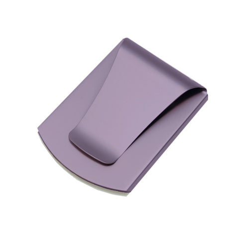 Storus® Promotions - Smart Money Clip Purplel Finish without engraving - designed by #ScottKaminski #Storus #jewelrycase #travelcase #PromotionalProducts #PromotionDistributors #Distributors #customizable #engravable #personalize