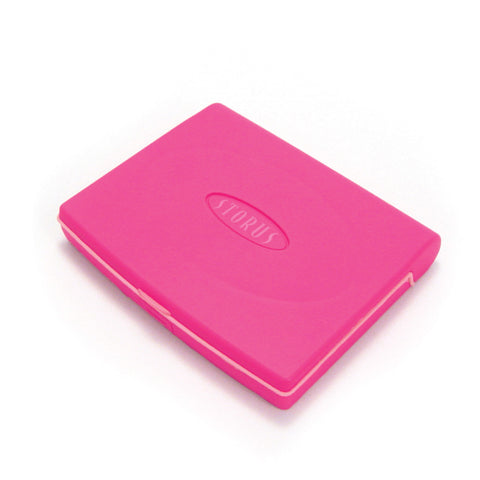 Storus® Promotions - Pink Smart Jewelry Case Mini with engraving - designed by Storus