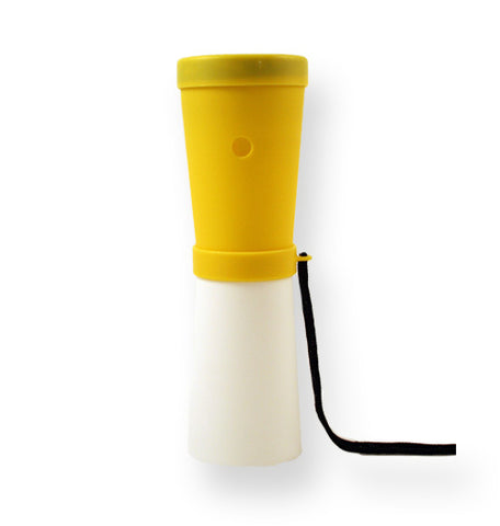 Storus® Promotions - Superhorn Yellow/White color - designed by #ScottKaminski #Storus #horns #rescue #mensaccessories #PromotionalIndustry #PromotionalProducts #PromotionDistributors #Distributors #customizable #engravable #personalize