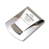 Storus® Promotions - Smart Money Clip Polished Stainless with engraving - designed by #ScottKaminski #Storus #jewelrycase #travelcase #PromotionalProducts #PromotionDistributors #Distributors #customizable #engravable #personalize