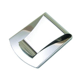 Storus® Promotions - Smart Money Clip Polished Stainless clip side shown - designed by #ScottKaminski #Storus #jewelrycase #travelcase #PromotionalProducts #PromotionDistributors #Distributors #customizable #engravable #personalize