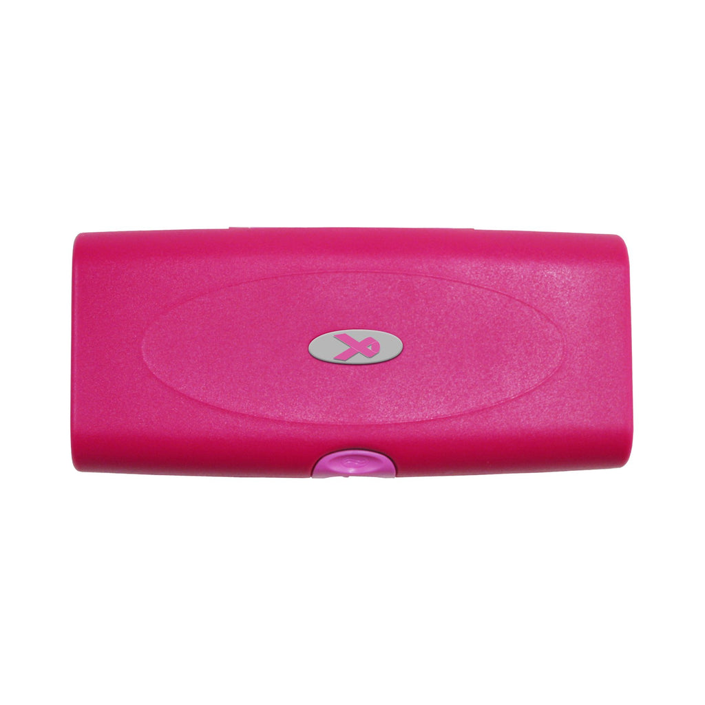 Storus® Promotions - Pink Smart Jewelry Case with digital printing - designed by #ScottKaminski #Storus #jewelrycase #travelcase #PromotionalProducts #PromotionDistributors #Distributors #customizable #engravable #personalize