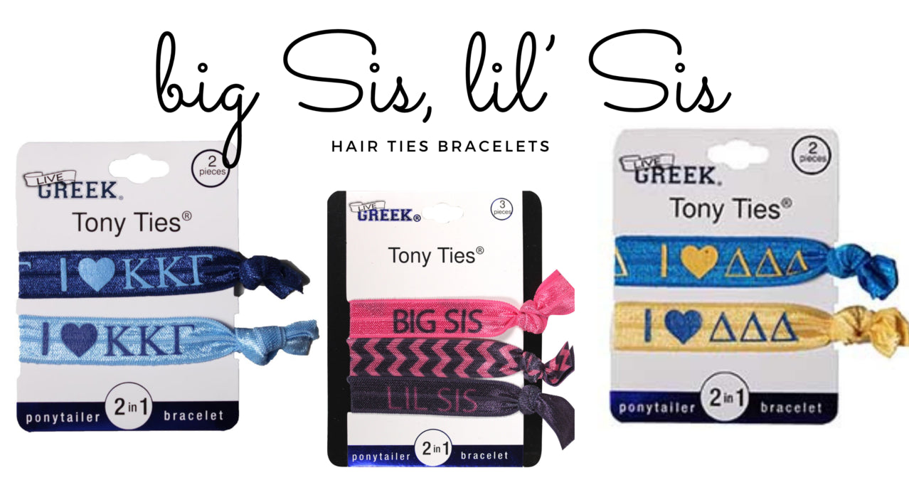 Storus Promotions Tony Ties hair ties + bracelets