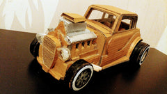 recycled cardboard car ford coupe 32 mob car cardboard recycle by gleznukalns creative studio