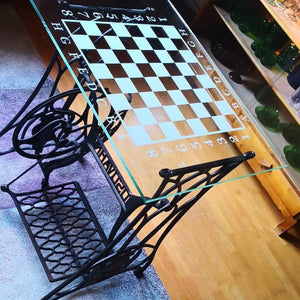 Chess Playtable White/Black High Quality Vinyl Stickers