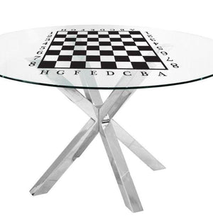 Chess Playtable White/Black High Quality Vinyl Stickers - Gleznukalns