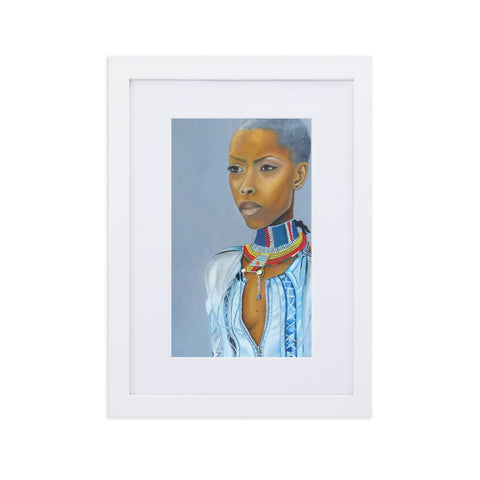 Erykah Badu in Oil