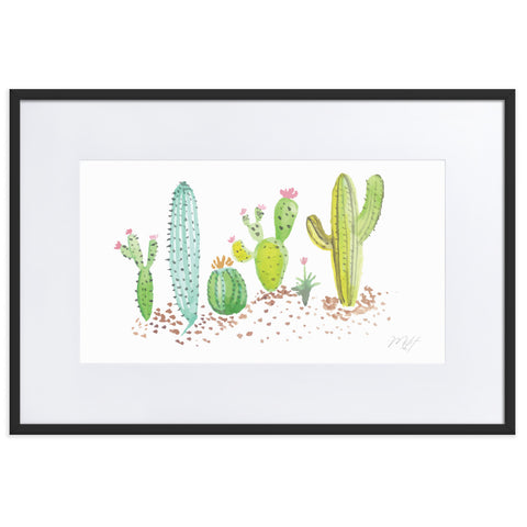 Cactus in Watercolor