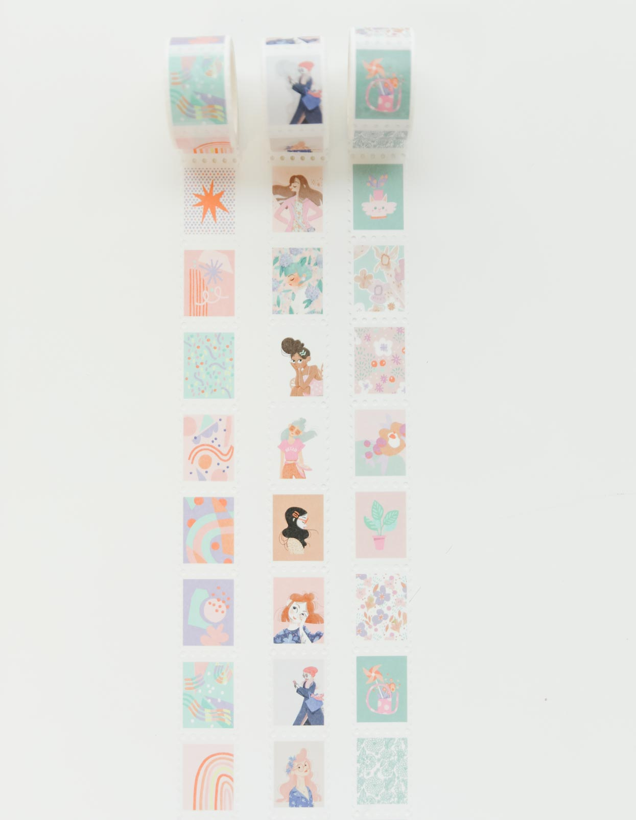 Our Awwwdorable Stamp Washi Tape: We Totes Luv Patterns Edition!
