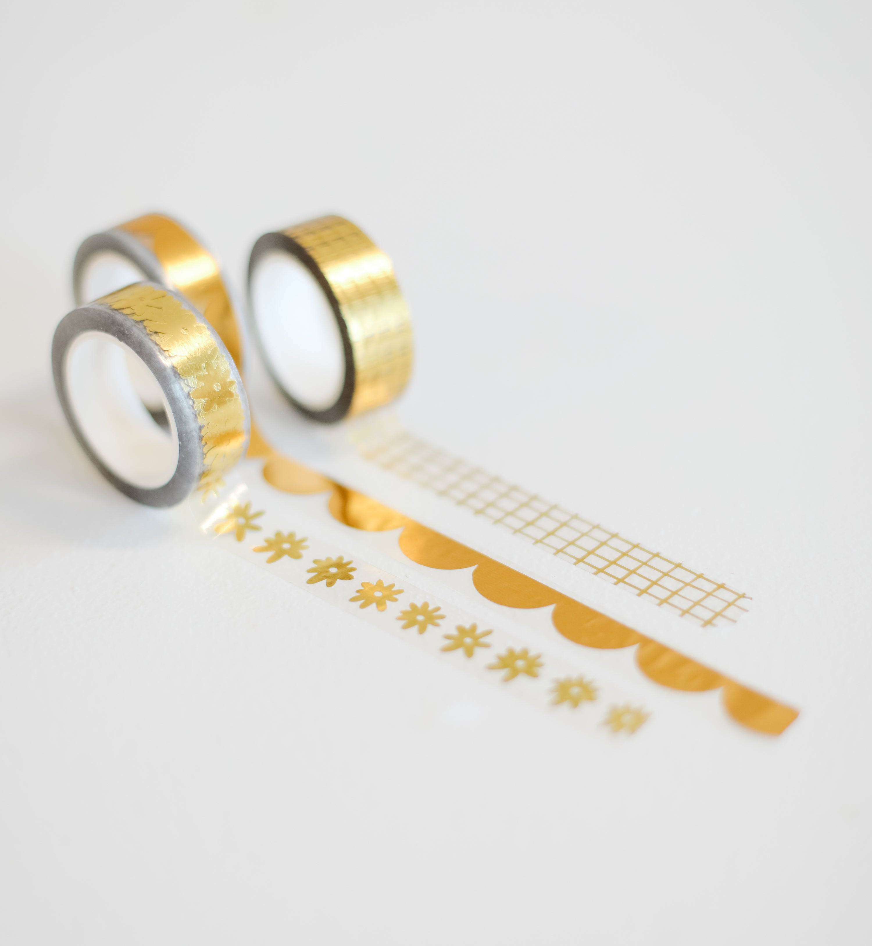 The HeyMaca Gold Washi Tape