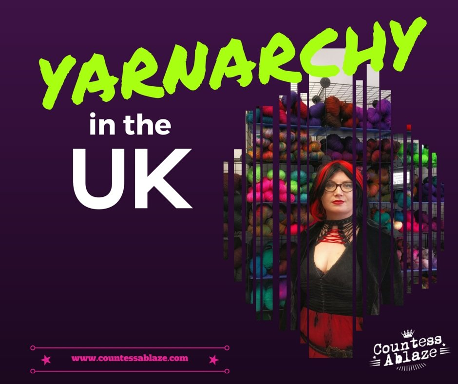 A round up of Yarn Shop Day with Countess Ablaze & BritYarn | Countess Ablaze