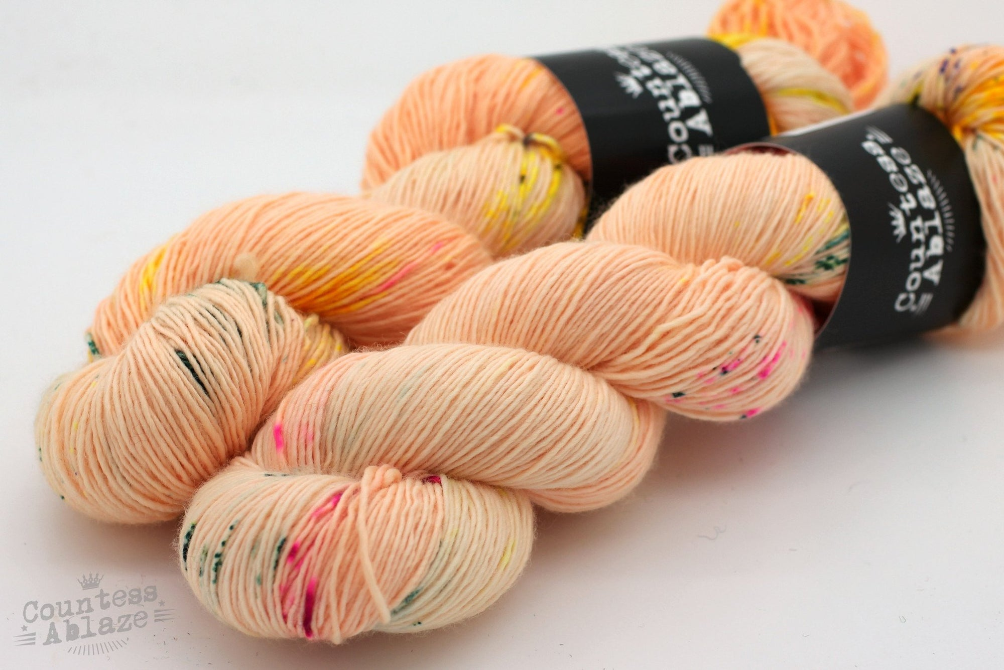 Colourway : Picking Up The Pieces | Countess Ablaze