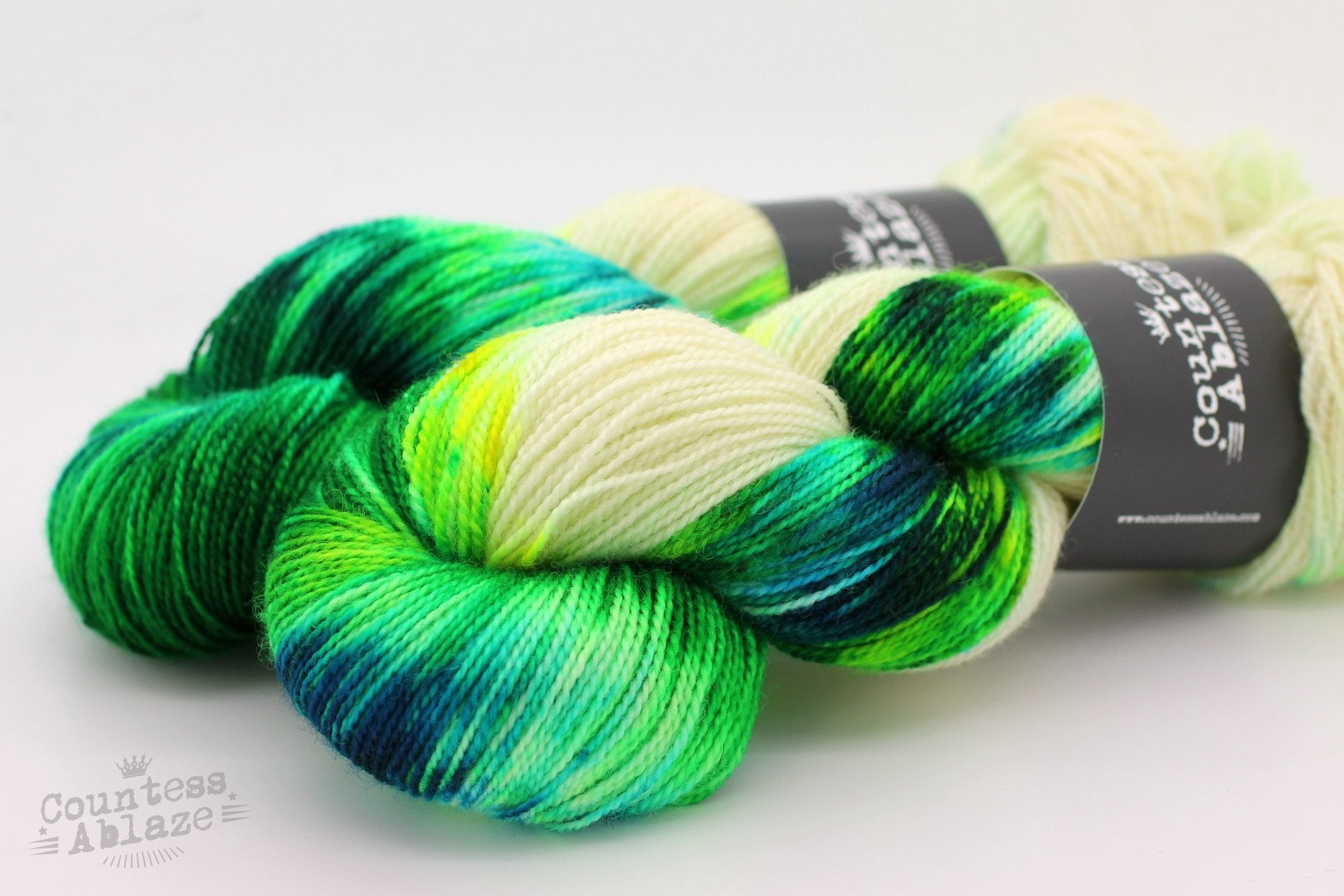 Colourway : Toxicity | Countess Ablaze