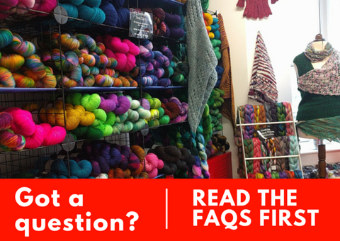 Got a question? Read the FAQs first