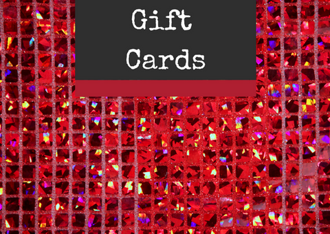Gift cards at Countess Ablaze