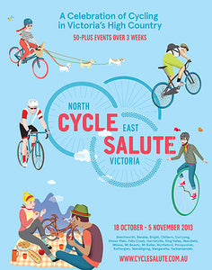 North East CYCLE SALUTE Victoria
