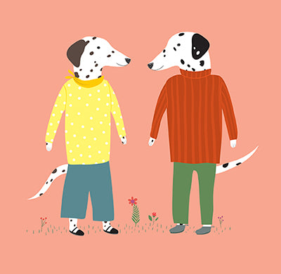 DOGS DRESSED UP: Dating Dalmations
