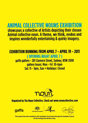 Animal Collective Noouns Exhibition