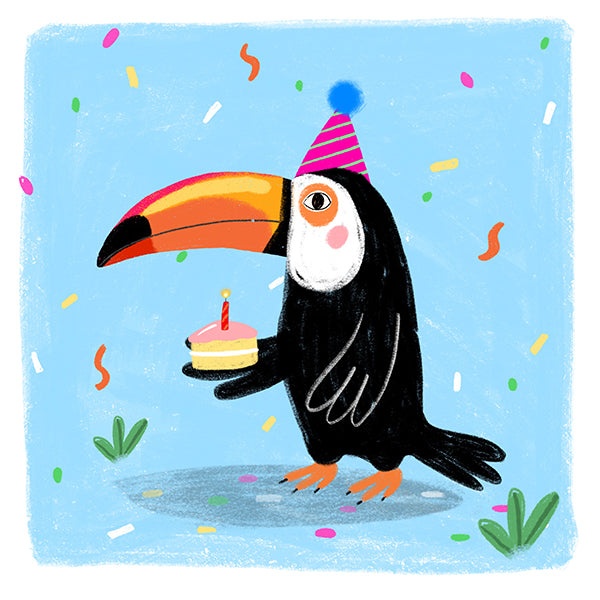 Party Animal Greeting Cards