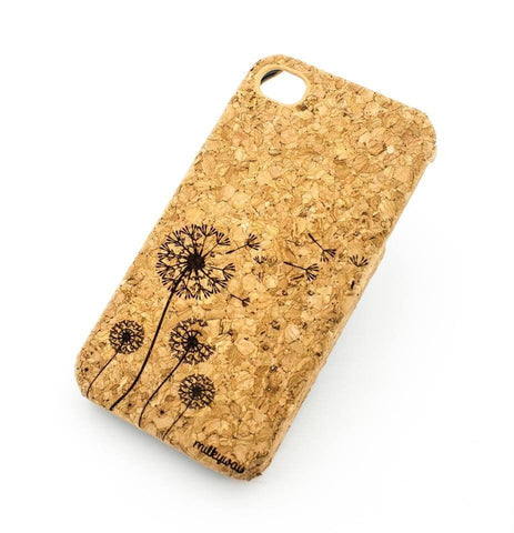 Cork Case Snap On Cover - DANDELION