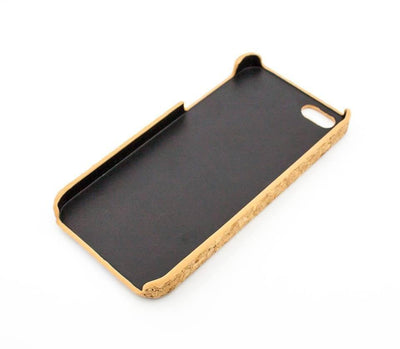 Cork Case Snap On Cover - KNUCKLES - Milkyway Cases -  iPhone - Samsung - Clear Cut Silicone Phone Case Cover