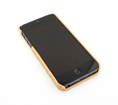 Cork Case Snap On Cover - OHM LOTUS - Milkyway Cases -  iPhone - Samsung - Clear Cut Silicone Phone Case Cover
