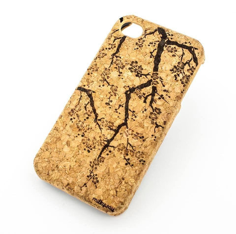 Cork Case Snap On Cover - CHERRY BLOSSOM