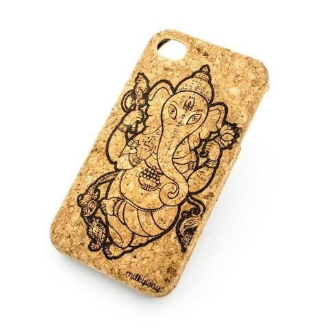 Cork Case Snap On Cover - GANESH 5.0
