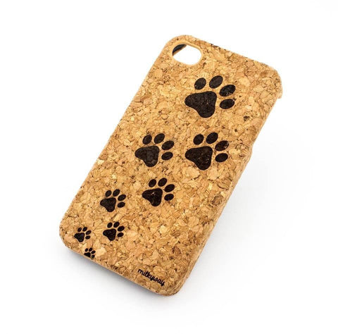Cork Case Snap On Cover  - PAWS
