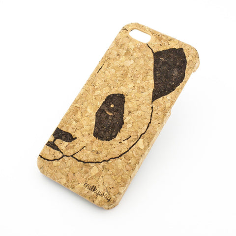 Cork Case Snap On Cover  - PANDA