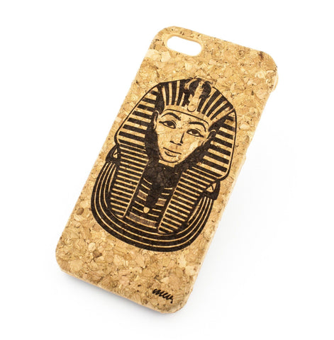Cork Case Snap On Cover - PHARAOH