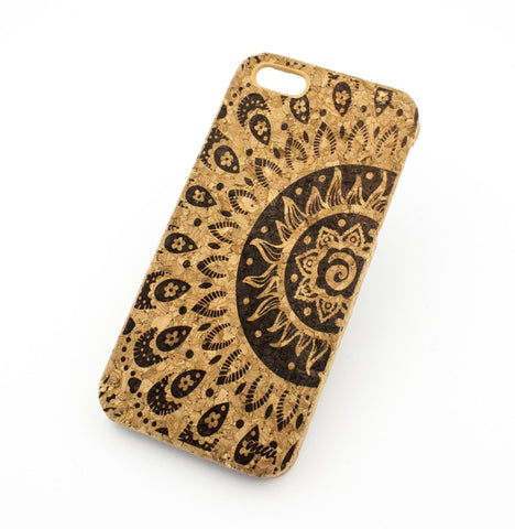 Cork Case Snap On Cover - SUNSHINE AZTEC