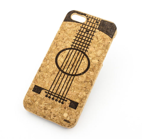 Cork Case Snap On Cover - GUITAR