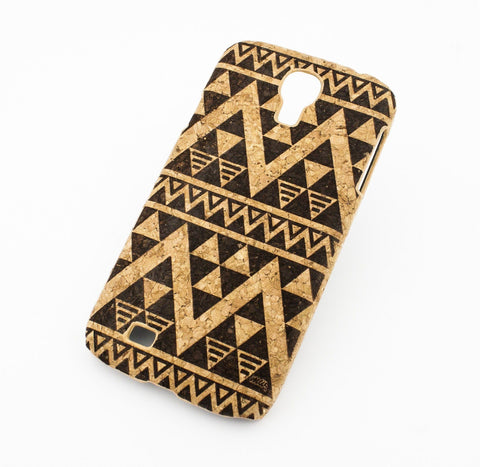 Cork Case Snap On Cover - EGYPTIAN AZTEC